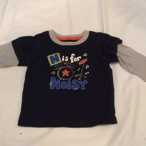 "Jumping Beans ""N is for Noisy"" shirt"